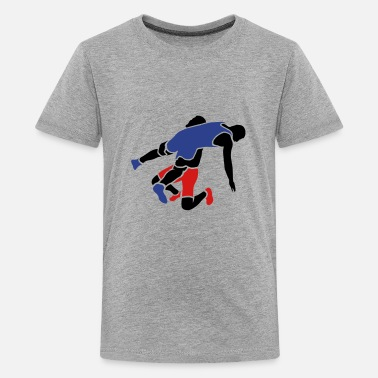 Freestyle Wrestling wrestling takedown - Kids' Premium T-Shirt