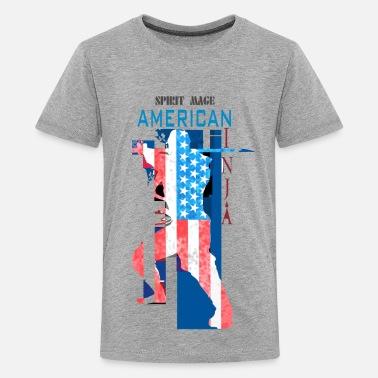 e3fdaa572b2899 American Ninja Warrior Ninja-American Ninja - Kids' Premium T-Shirt
