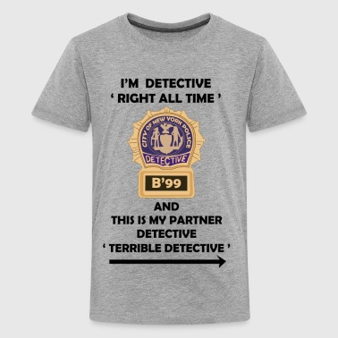 Jake Peralta I'm Detective Right All Time - Kids' Premium T-Shirt