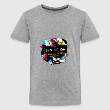 Qa Analyst SENIOR QA - Kids' Premium T-Shirt