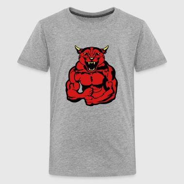 puma body bodybuilding design - Kids' Premium T-Shirt