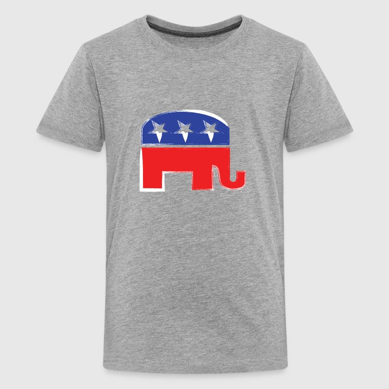 Republican Elephant - Kids' Premium T-Shirt