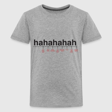 Breaking Down Laughter - Kids' Premium T-Shirt