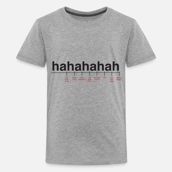 33ca1a5d7 Cool T-Shirts - Breaking Down Laughter - Kids' Premium T-Shirt heather