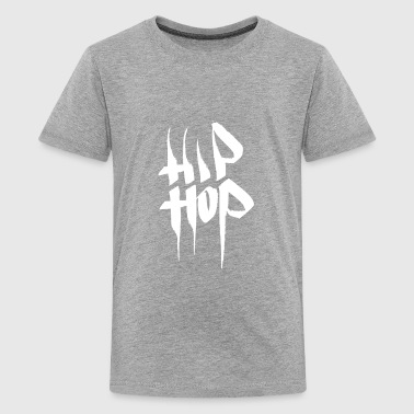 HIP HOP Graffiti Tags Old School Streetart Style - Kids' Premium T-Shirt