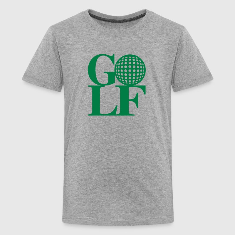 Golf ball art - Kids' Premium T-Shirt