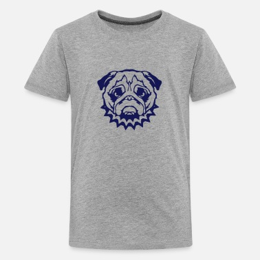 Dog Collar bulldog dog collar feroce 2 - Kids' Premium T-Shirt