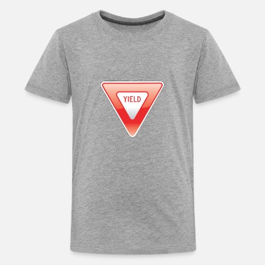 Yield Sign Yield Sign - Kids' Premium T-Shirt