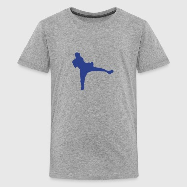 french boxing savate 7 - Kids' Premium T-Shirt