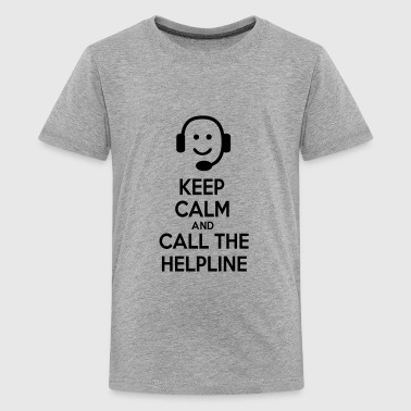 6061912 122552816 helpline - Kids' Premium T-Shirt