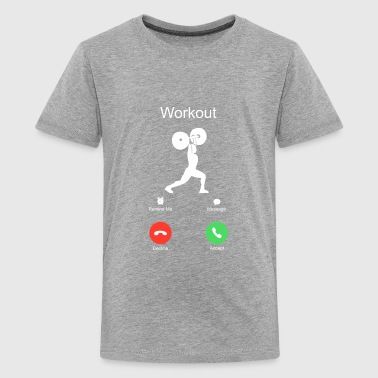 call crossfit workout of the day WOD sports - Kids' Premium T-Shirt