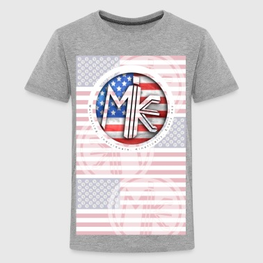 M.I.K.E. Flag  - Kids' Premium T-Shirt