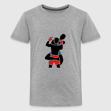 rear naked choke - Kids' Premium T-Shirt