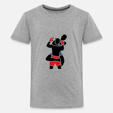 Naked Bike rear naked choke - Kids' Premium T-Shirt