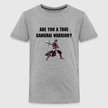 Are you a true Samurai Warrior?  - Kids' Premium T-Shirt