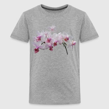 Phalaenopsis Orchids Twilight Rainbow - Kids' Premium T-Shirt