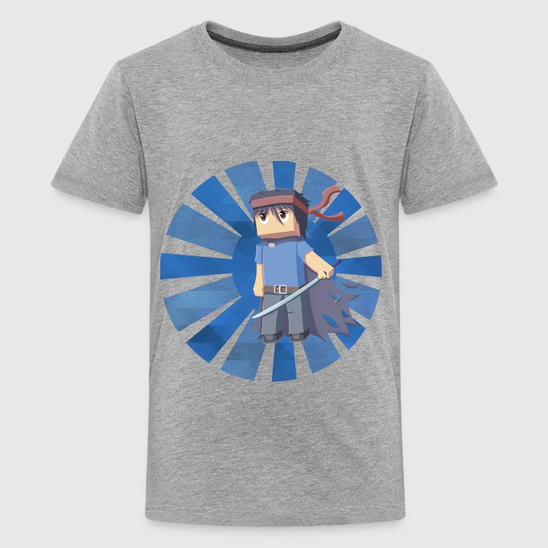 Min3rpro! blue design! Minecraft - Kids' Premium T-Shirt