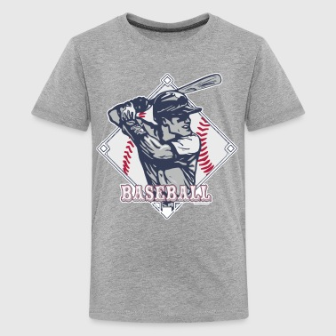 Vintage Baseball Diamond  - Kids' Premium T-Shirt