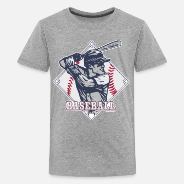 Baseball Sayings Vintage Baseball Diamond  - Kids' Premium T-Shirt