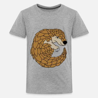 B Day Pangolin Lovers Funny Cute Specie Save Gift - Kids' Premium T-Shirt