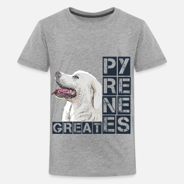 Pastor Great Pyrenees - Kids' Premium T-Shirt