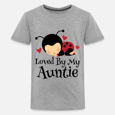 Loved Niece Loved By Auntie Gift - Kids' Premium T-Shirt