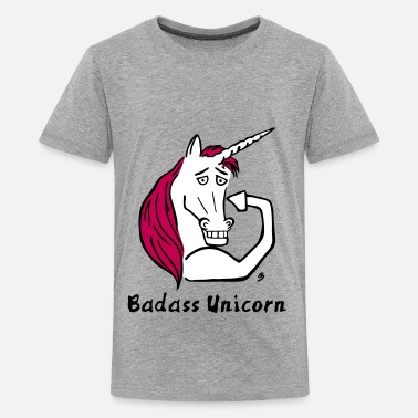 Badass Unicorn Badass Unicorn - Kids' Premium T-Shirt