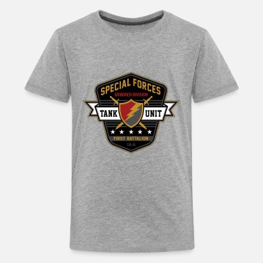 Special Forces armored division - Kids' Premium T-Shirt