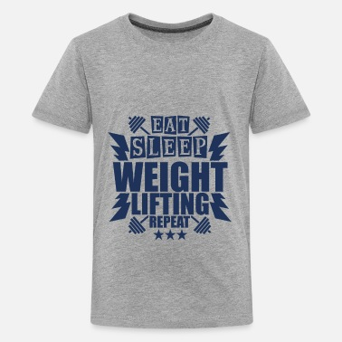 Weightlifting Weightlifting Weightlifting Weightlifting - Kids' Premium T-Shirt