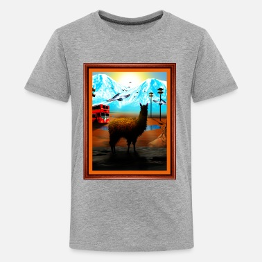 Phish Llama Lot Shirt - Kids' Premium T-Shirt