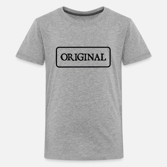 Original T-Shirts - Original - Kids' Premium T-Shirt heather gray