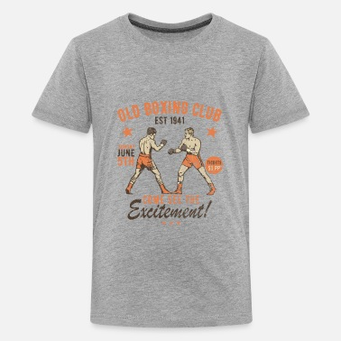 Vintage Old Boxing Club - Kids' Premium T-Shirt