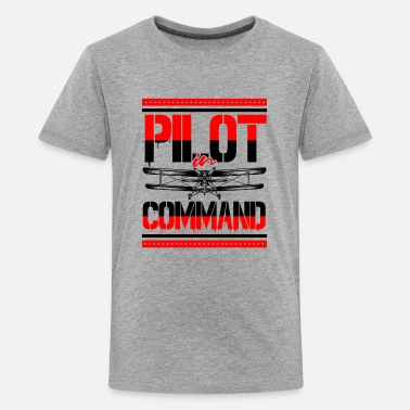 Private Pilot Airplane Aircraft Aviator Commercial Privat Pilot - Kids' Premium T-Shirt
