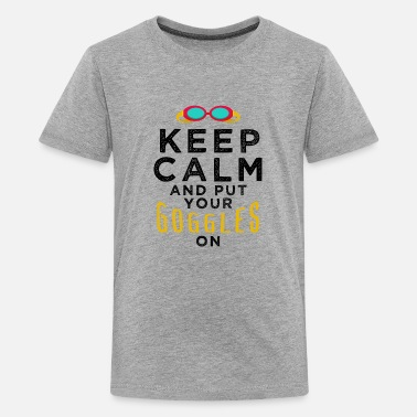 Quotes Swim Swimming Fan Lover Sport - Kids' Premium T-Shirt