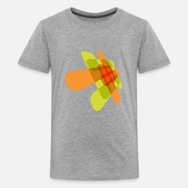 Graphic Art Element For Graphic Green and Red - Kids' Premium T-Shirt