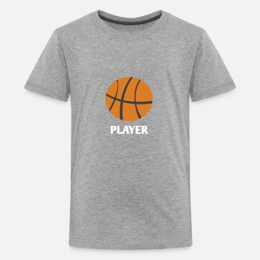 Player Basketball Player - Kids' Premium T-Shirt