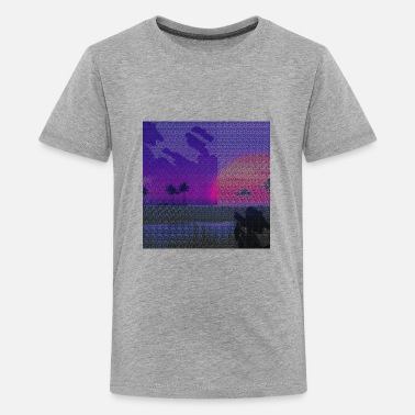 Photoshop Moonlight painting - Kids' Premium T-Shirt
