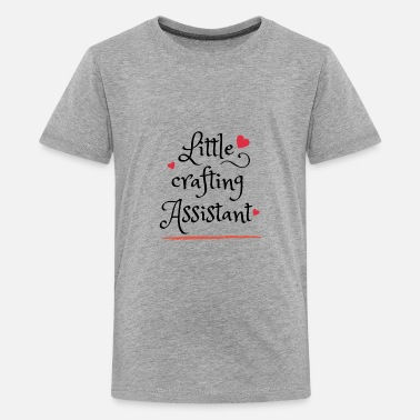 Little crafting Assistant - Kids' Premium T-Shirt