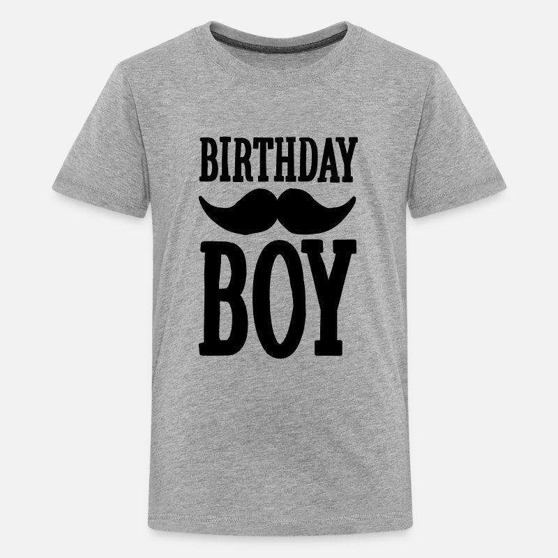 Birthday Boy Hipster Kids Premium T Shirt