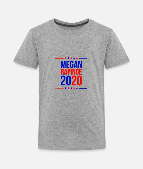 Megan T-Shirts - megan rapinoe marchandise - Kids' Premium T-Shirt heather gray