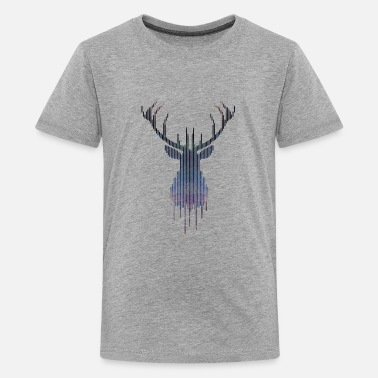 Deer Head Deer - Kids' Premium T-Shirt