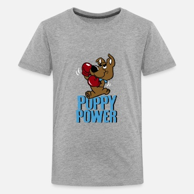 Puppy PUPPY POWER - Kids' Premium T-Shirt