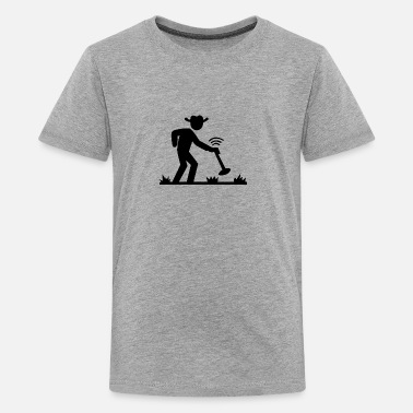 Metal Metal detecting - Kids' Premium T-Shirt