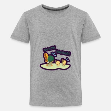 Baby Duck Quack Mom Waddle Chick Goose - Kids' Premium T-Shirt