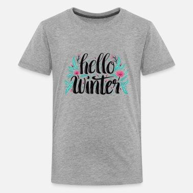 Salam Hello winter - Kids' Premium T-Shirt