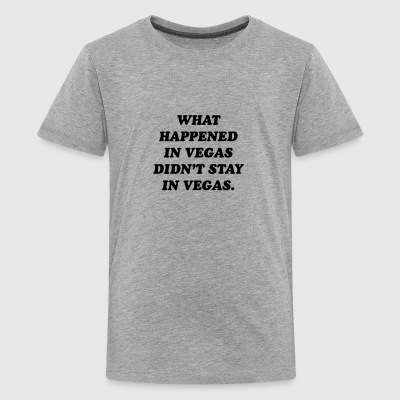 What happened in Vegas - Kids' Premium T-Shirt