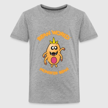Bean World - Monster Bean - Kids' Premium T-Shirt