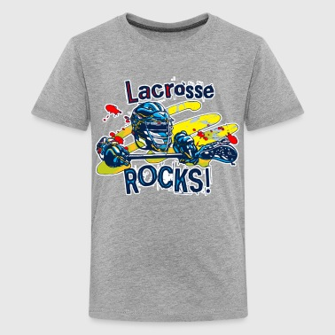 LaX Rocks - Kids' Premium T-Shirt