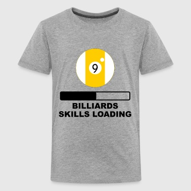 Billiards Skills Loading - Kids' Premium T-Shirt