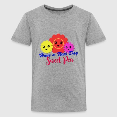 Flower sweet pea - Kids' Premium T-Shirt